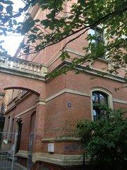 Haus der Vitebergia, Einfahrt