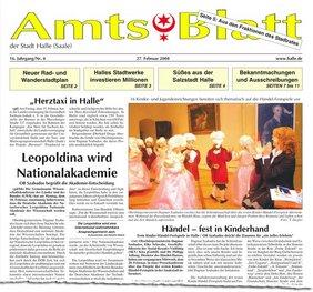 Amtsblatt Abriß