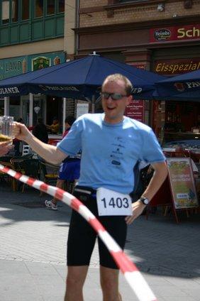 Läufer beim Benefizlauf
