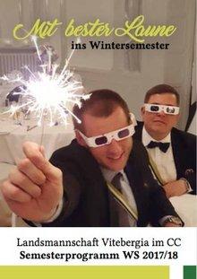 Semesterprogramm Wintersemester 2017/18