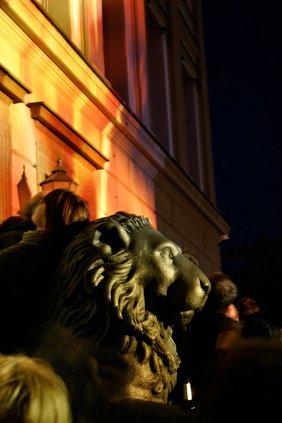Halluminierter Löwe