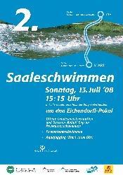 Titel Flyer Saaleschwimmen